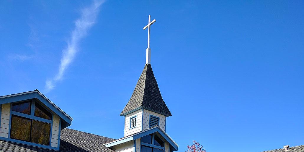 Murrieta United Methodist Church Roof with Cross