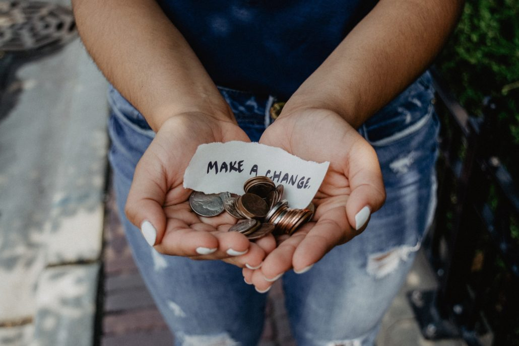 Charity with change